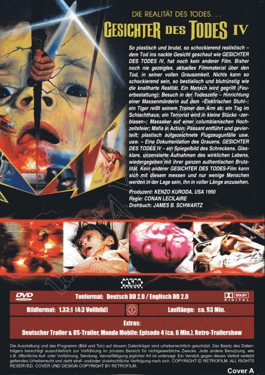 Gesichter Des Todes Iv Cover A Dvd Uncut 01736 000